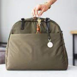 Lo & Sons OMG Bag Army Green/Camel/Gold